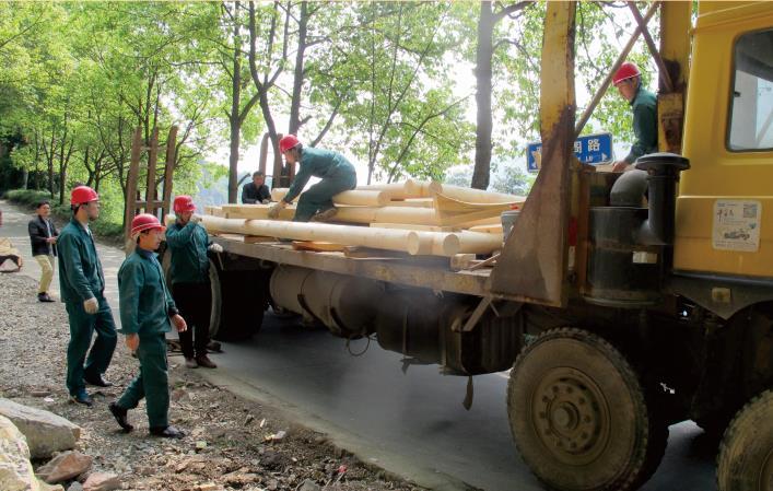 三峡木屋为您介绍木结构工程中木料的加工流程