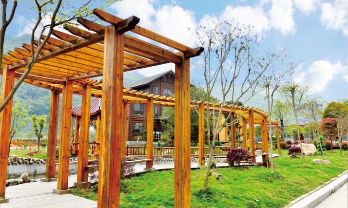 景观设计木结构施工流程!三峡木屋带你了解