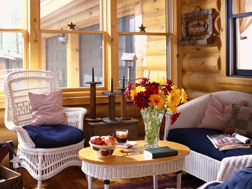 木屋室内风格