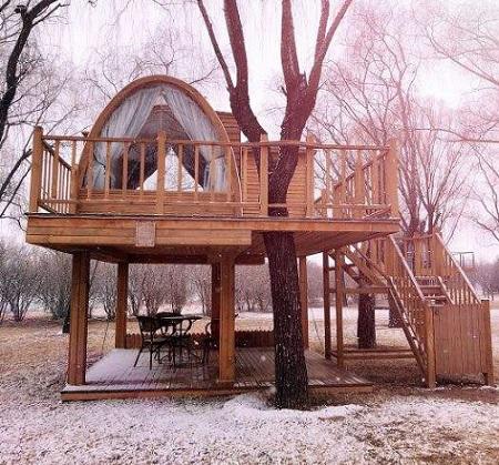个性化木屋