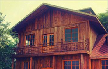 湖北防腐木木屋