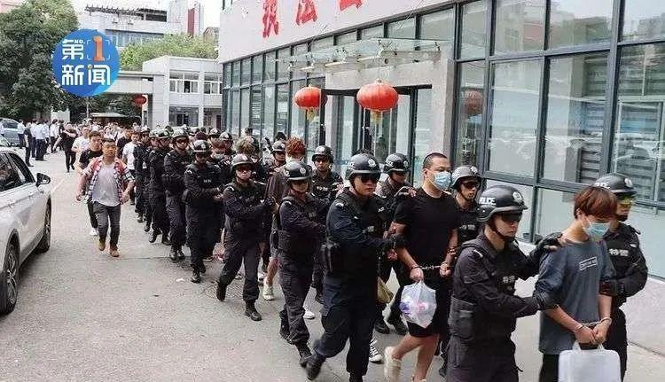 大快人心!陕西警方半个月抓获797人!