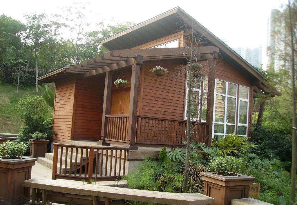 湖北防腐木屋