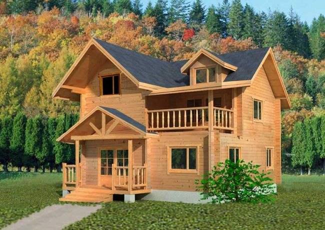 木屋别墅能够缓解温室效应