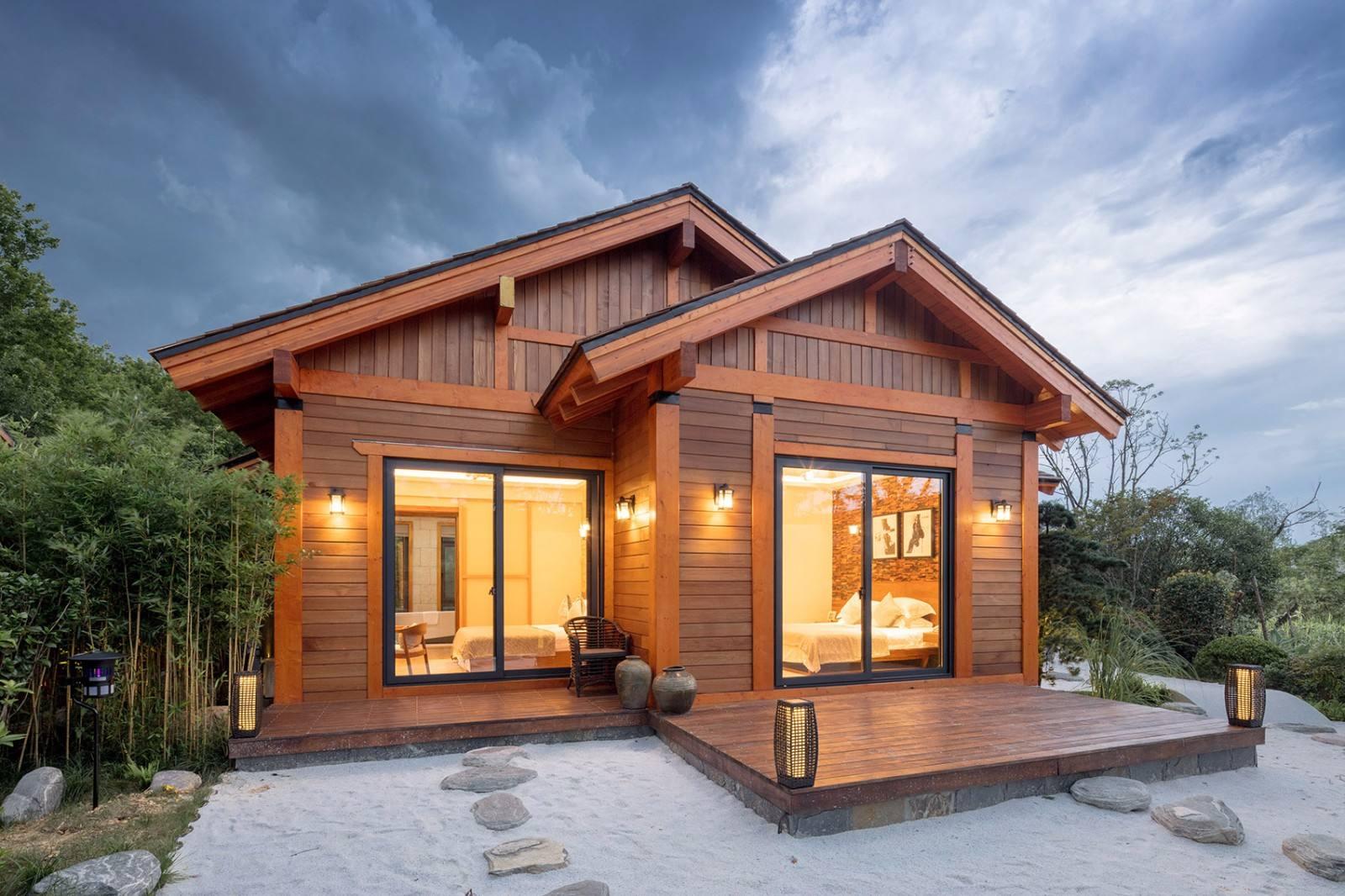 木结构别墅与其他建筑材料的全方位比较
