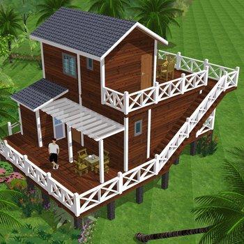 木屋别墅有什么优点?为何受欢迎?三峡木屋带您了解