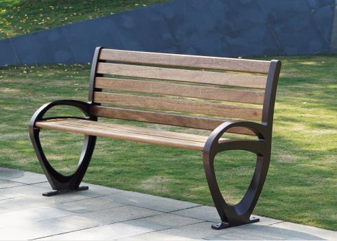 铁艺公园座椅