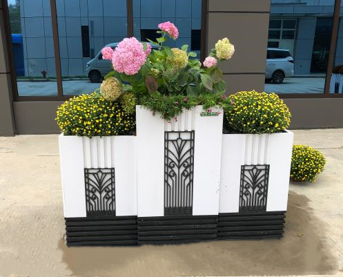 杨凌农高会主会场的广场景观布置