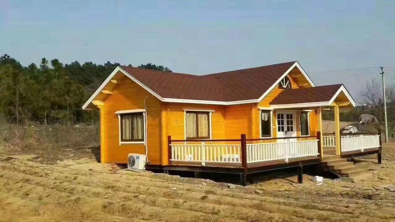 木屋别墅——舒适的居住建造材料