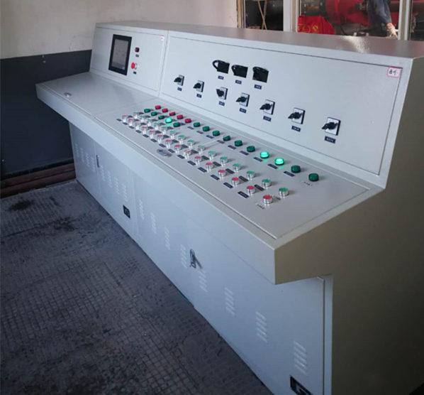 陕西锅炉控制柜案例