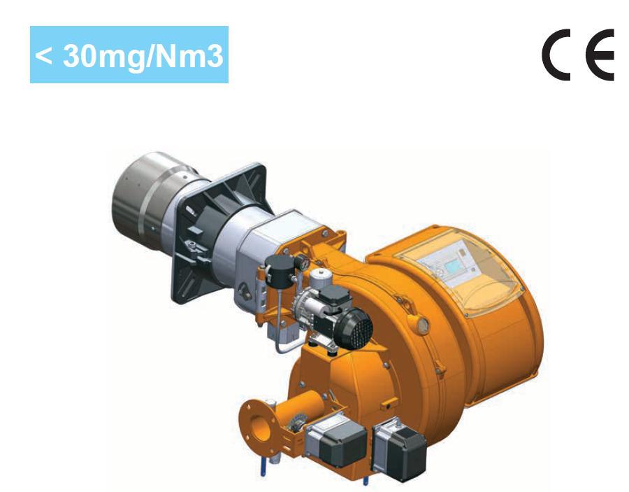 超低氮燃烧器 NOX<30mg/N3