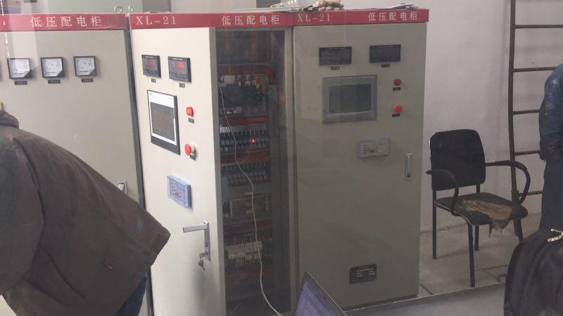 触摸屏锅炉控制柜