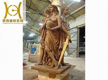 园林景观雕塑设计