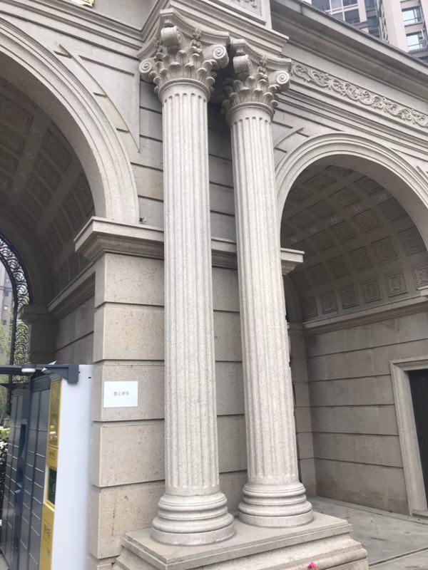 GRC罗马柱设计