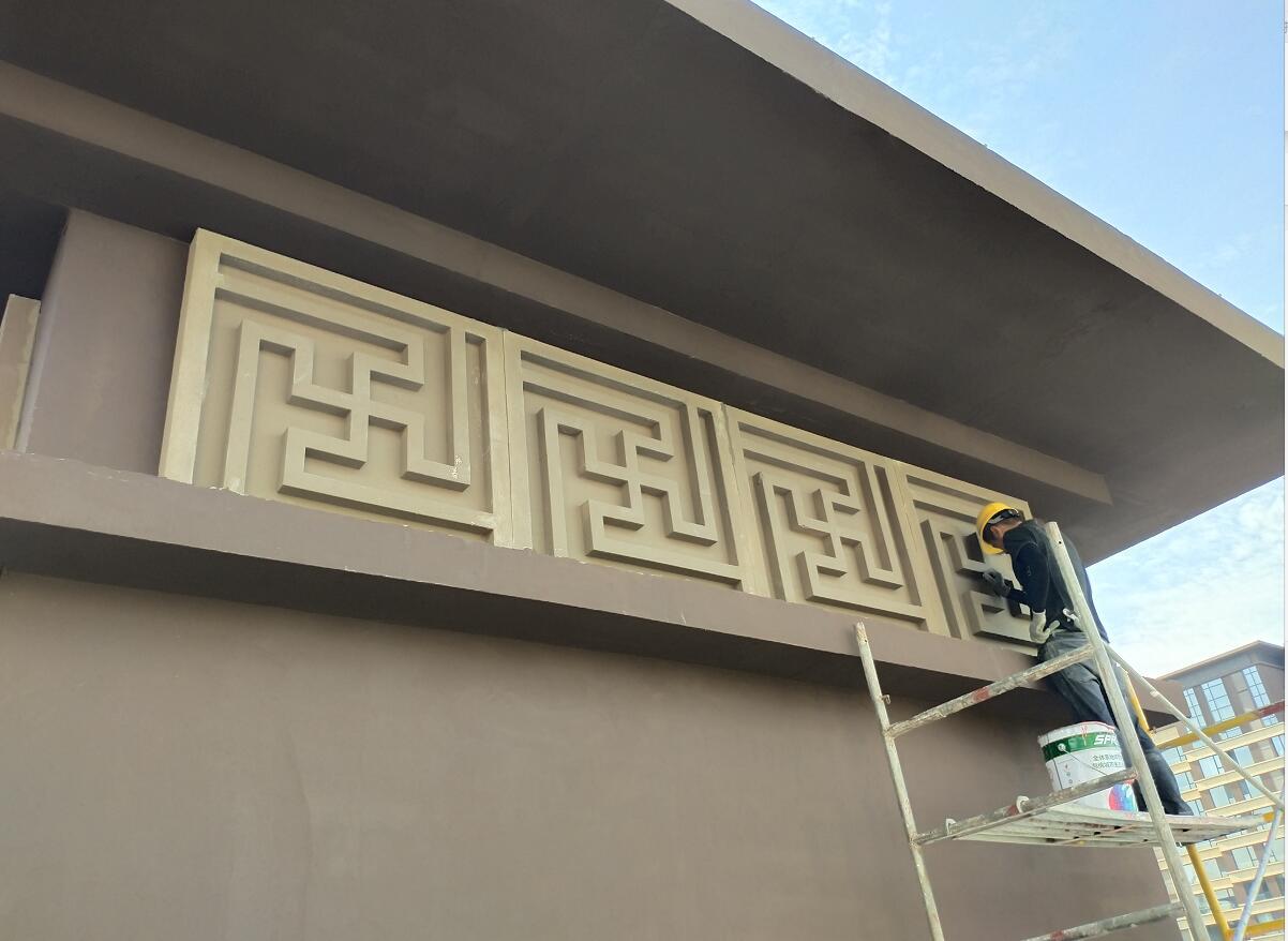 西安eps装饰线条案例图