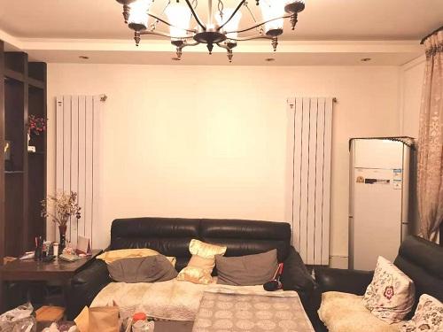 贵阳世纪城龙嘉苑1-1-1301明装铜铝复合暖气片实拍