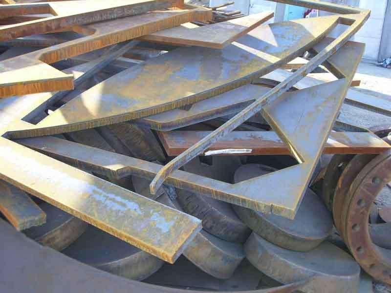 废弃钢板回收  专业回收二手钢材公司