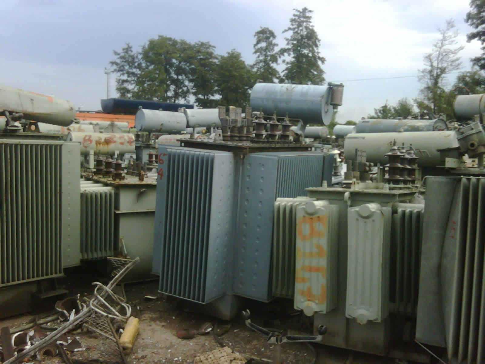 宁夏废旧变压器回收