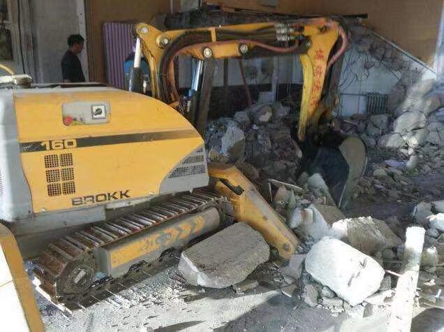 宁夏厂房拆除工程