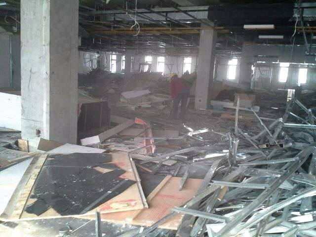 宁夏厂区室内拆除工程
