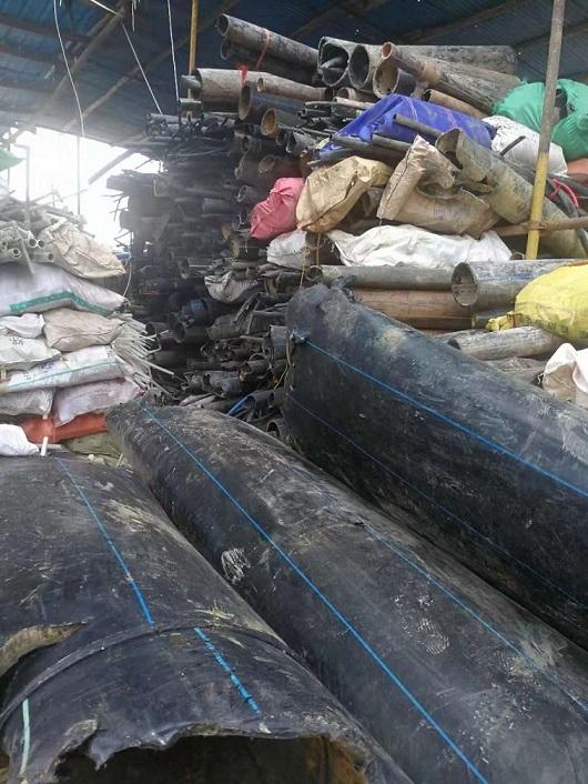 宁夏回收废旧PE管  PE管回收厂家