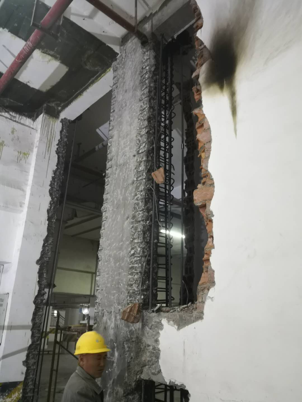 磐固科技施工成都灌浆料现场
