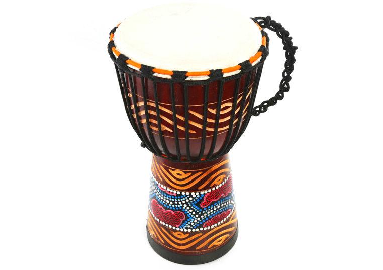8寸彩绘非洲鼓