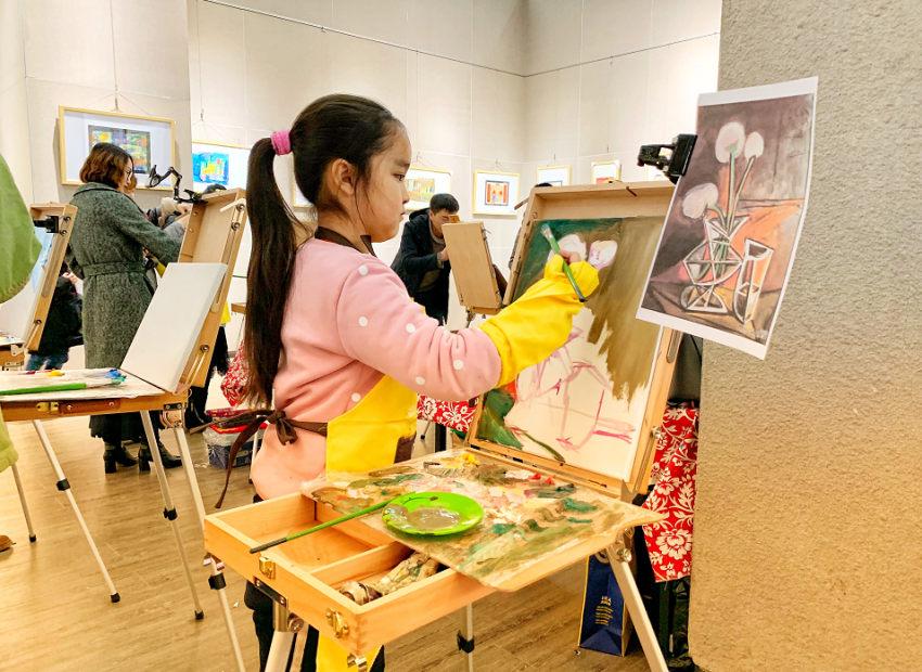 4-7岁儿童艺术创意天才班