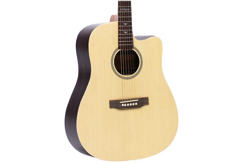 吉他红松面单玫瑰木吉他 41
