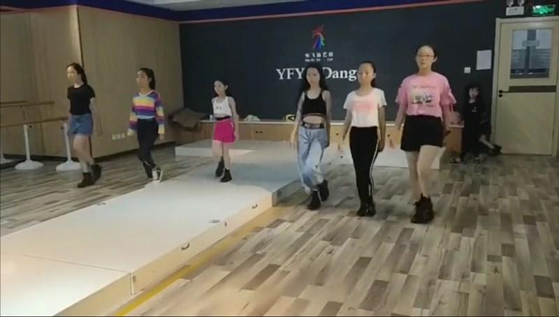 银川少儿国际形体模特训练