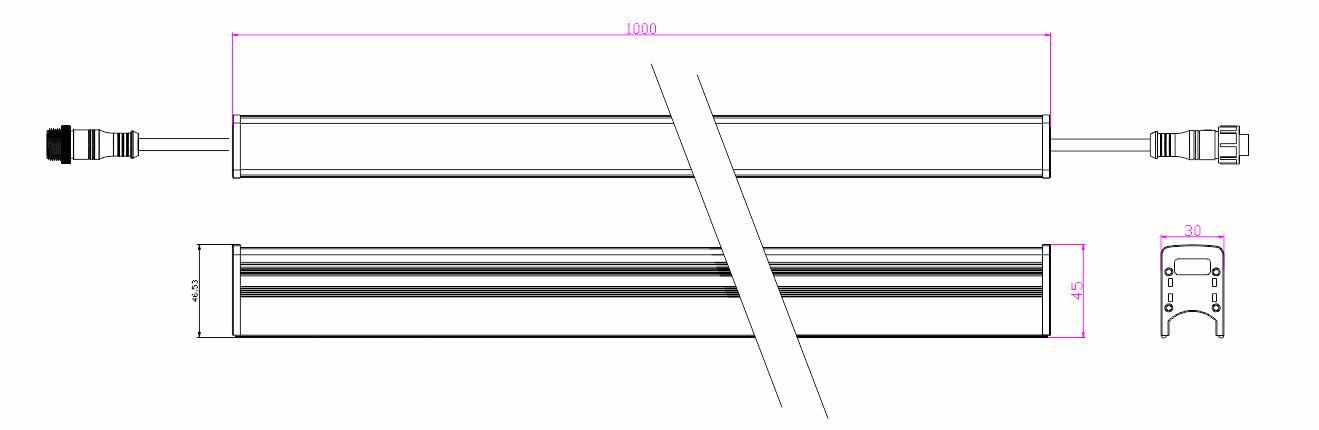 U3045X1物理尺寸