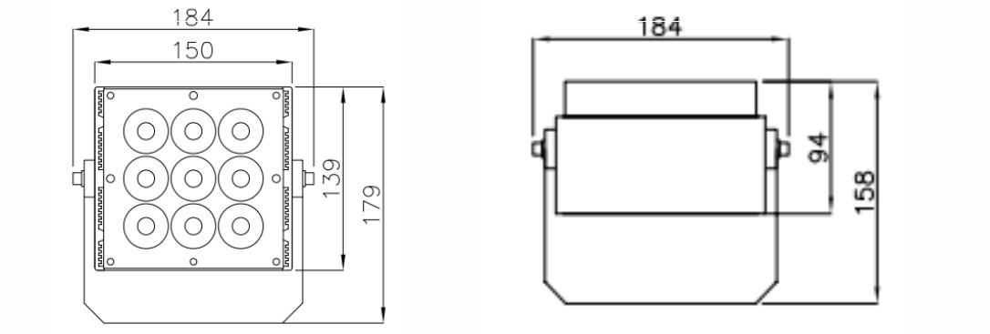 F184物理尺寸