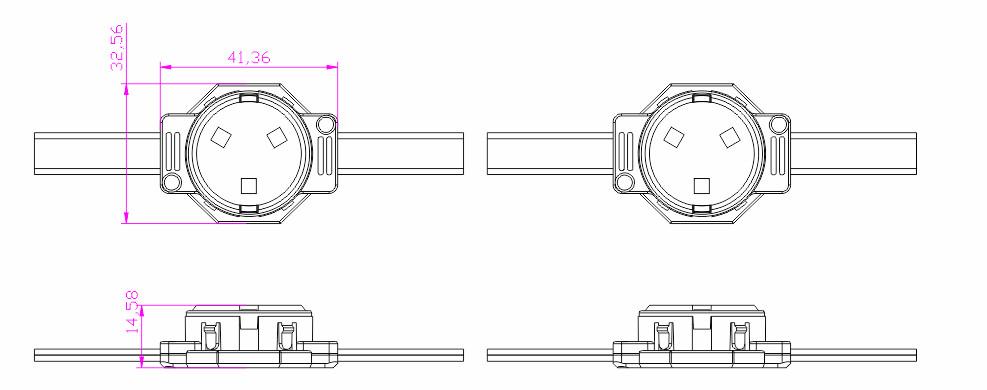 P50X2物理尺寸