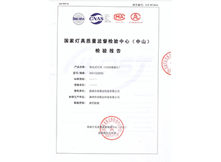 固定式灯具(U2226线条灯)_国家灯具质量监督检验中心(中山)检验报告