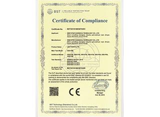 XSD-P50_CE认证证书