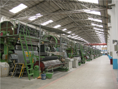造纸厂烘缸喷涂