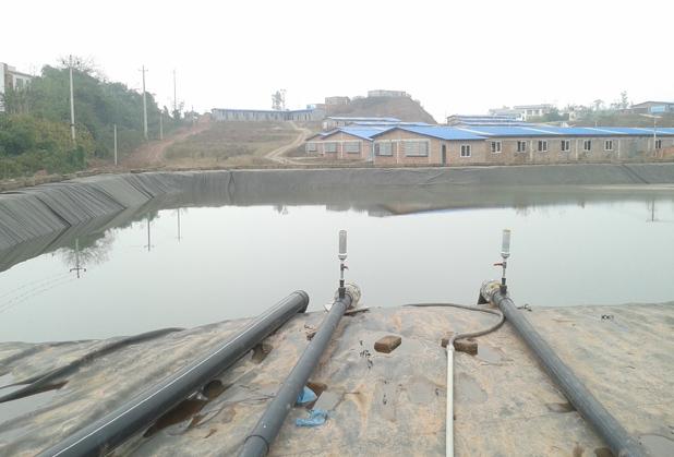 四川黑膜沼气工程