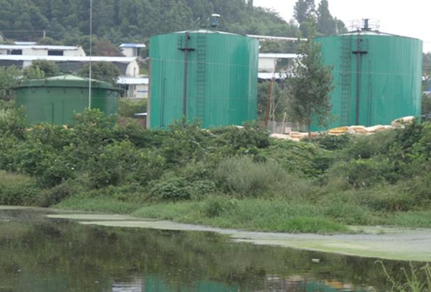 四川玻璃钢沼气工程