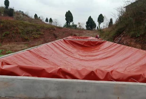 四川红泥沼气池