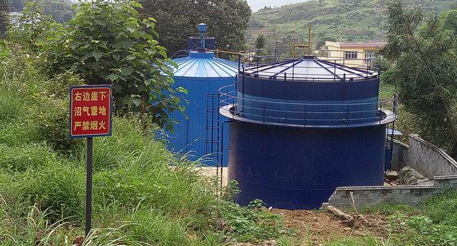 四川沼气工程施工成功案例