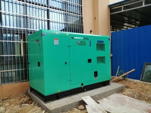 柴油發電機廠家對燃油箱的安裝要求