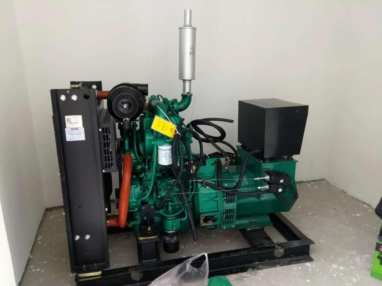 常用汽油家用发电机组的控制