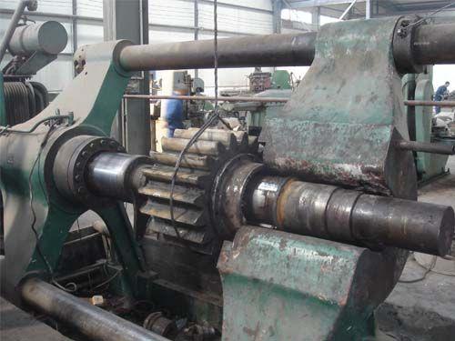 西安兰电案例展示之500T油压机退齿轮轴