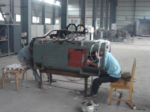 AEG公司350KW直流机换线
