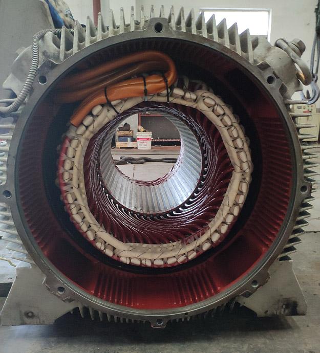 西安电机维修-西门子630KW 6KV高压电机