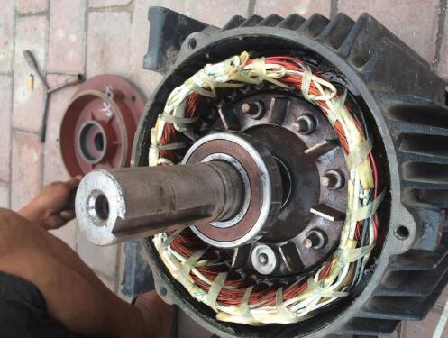 从电动机自身的特点出发研究维修方法