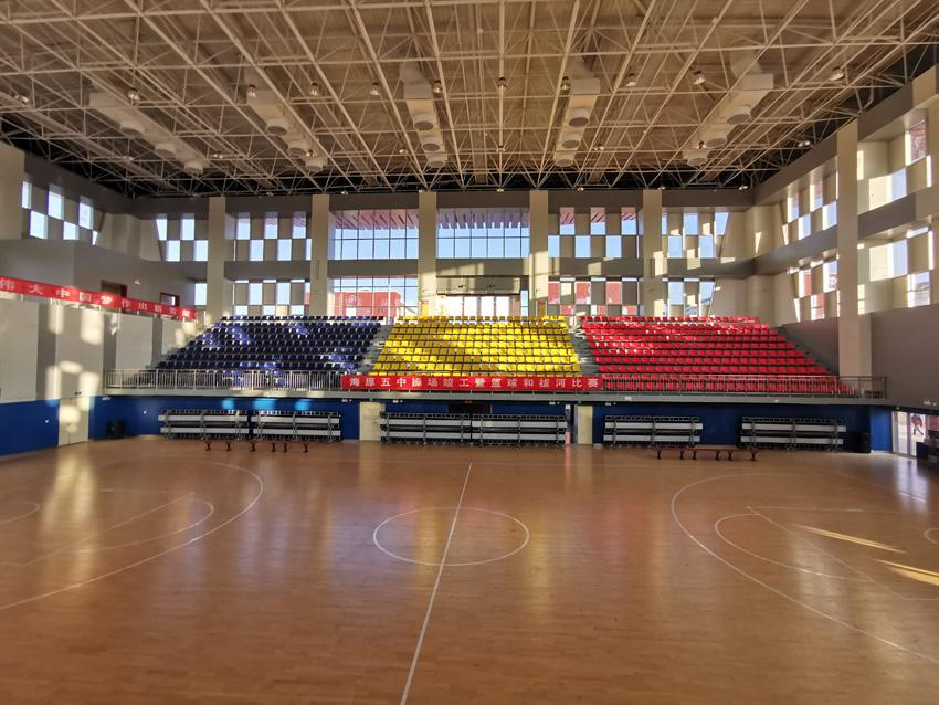 海源5中体育馆建设