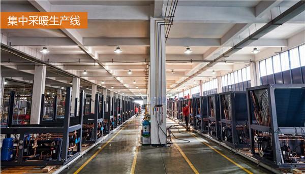 河南新风系统厂房展示