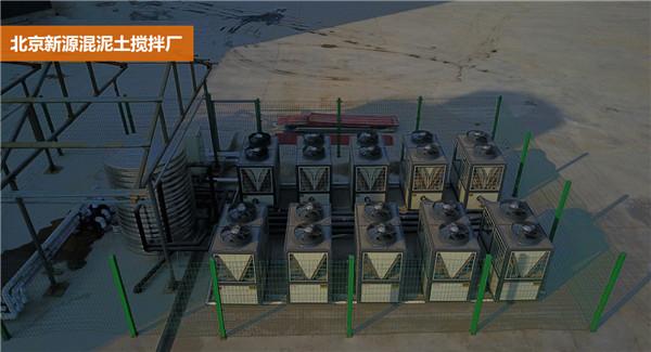 河南中央热水系统施工现场