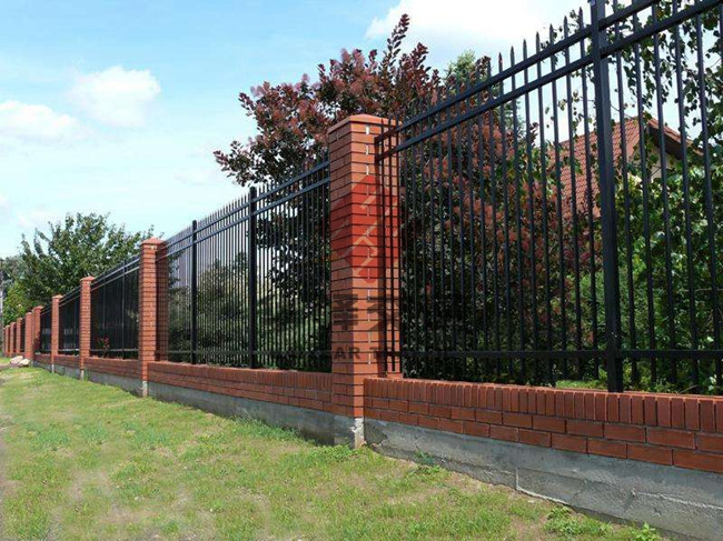四川锌钢围墙护栏